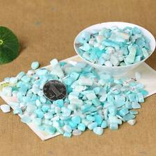 50g Tumbled 100% NATURAL Amazonite QUARTZ Crystal Stones Crystals Wholesale F487