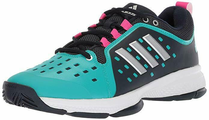 Adidas Women's Barricade Classic Bounce Tennis shoes Legend Ink Matte Silver Aqua