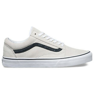 vans old school blanco y negro