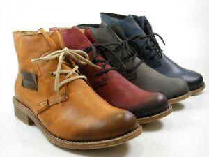 bester Preis Discounter beste Angebote für Stiefeletten Boots Warmfutter Ebay Rieker Damen Schuhe 72740 ...