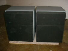 2 Altec 9846B BiAmplified Studio Monitor Speaker Systems 9846-8A Powered by 771B