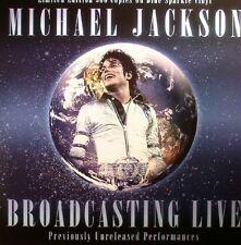 Michael Jackson - Broadcasting Live (Blue Vinyl) - NEW LP - CODA - CPLVNY086