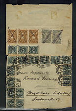 1923 Dresden Germany Inflation cover to Madgeburg