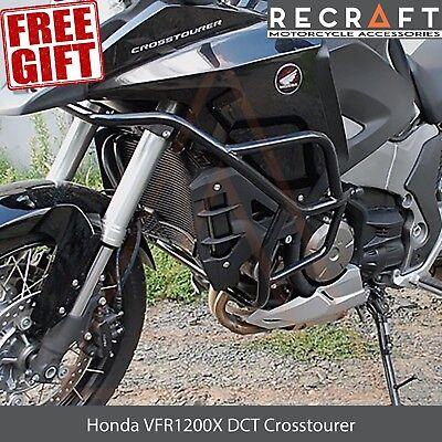 Motorcycle Engine guard, crash bars for Honda VFR1200X DCT Crosstourer +  GIFT | eBay