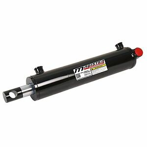 Hydraulic-Cylinder-Welded-Double-Acting-2-5-034-Bore-10-034-Stroke-PinEye-End-2-5x10