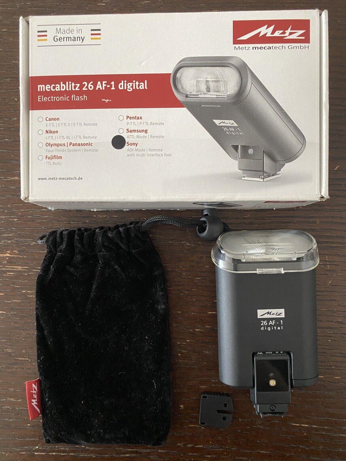 Metz mecablitz 44 AF-2 Digital Flash for Nikon i-TTL Cameras