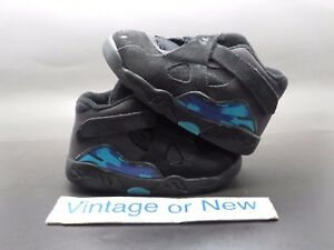 d133b389b00fb9 Image is loading Nike-Air-Jordan-VIII-8-Aqua-TD-2007-