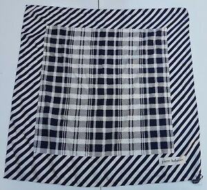Foulard-carre-scarf-Pierre-Balmain-Paris-100-silk-pura-seta-original-made-italy