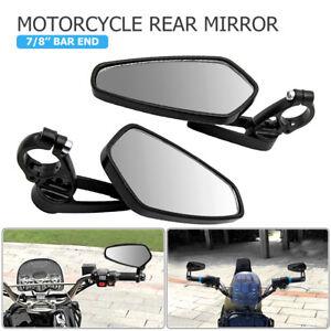 Par-22mm-7-8-034-Espejo-Retrovisor-para-Moto-Motocicleta-Montaje-Extremo-de-Barra