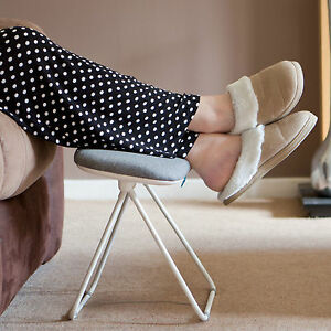 Tilting Foot Rest Leg Support Footstool Home Office Gaming
