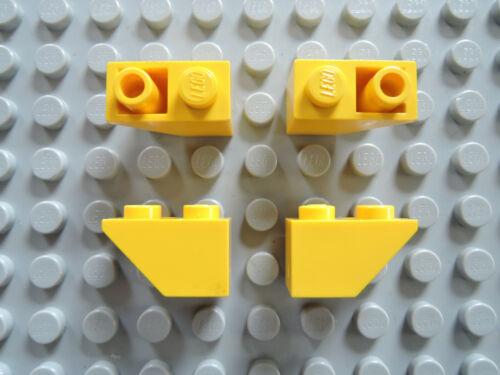 LEGO 10 X Dachstein oblique Pierre Slope 3665 45 ° 2x1 Négatif Jaune