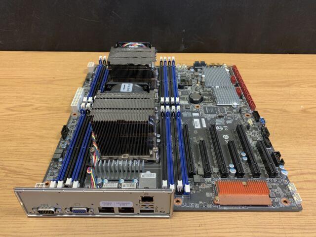 Gigabyte Server Motherboard MD70-HB0 + 2x E5-2630 v3 CPU 2x 10GbE BASE-T IPMI