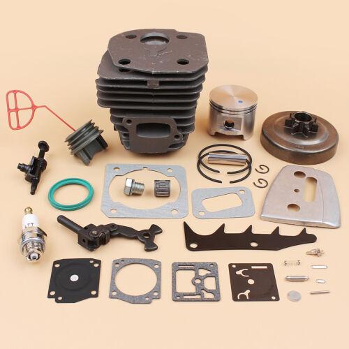 45mm Cylinder Piston Kit For Husqvarna 353 350 351 346XP CS 2152 2153 Chainsaw