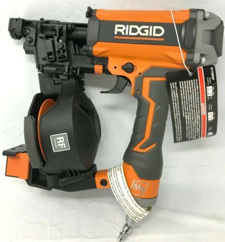 pneumatic Coil Roofing Nailer Nail Gun N Ridgid R175RNF 1-3//4 in