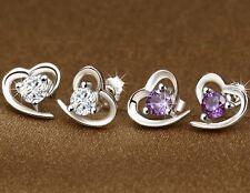 Heart Shape Earings- Stud (Purpel) valentine Holi Sale Gift