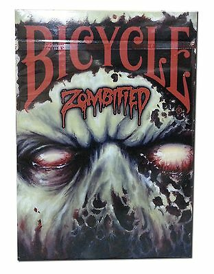 Bicycle Zombified Deck Playing Cards Zombification Billy Tackett Zombie New