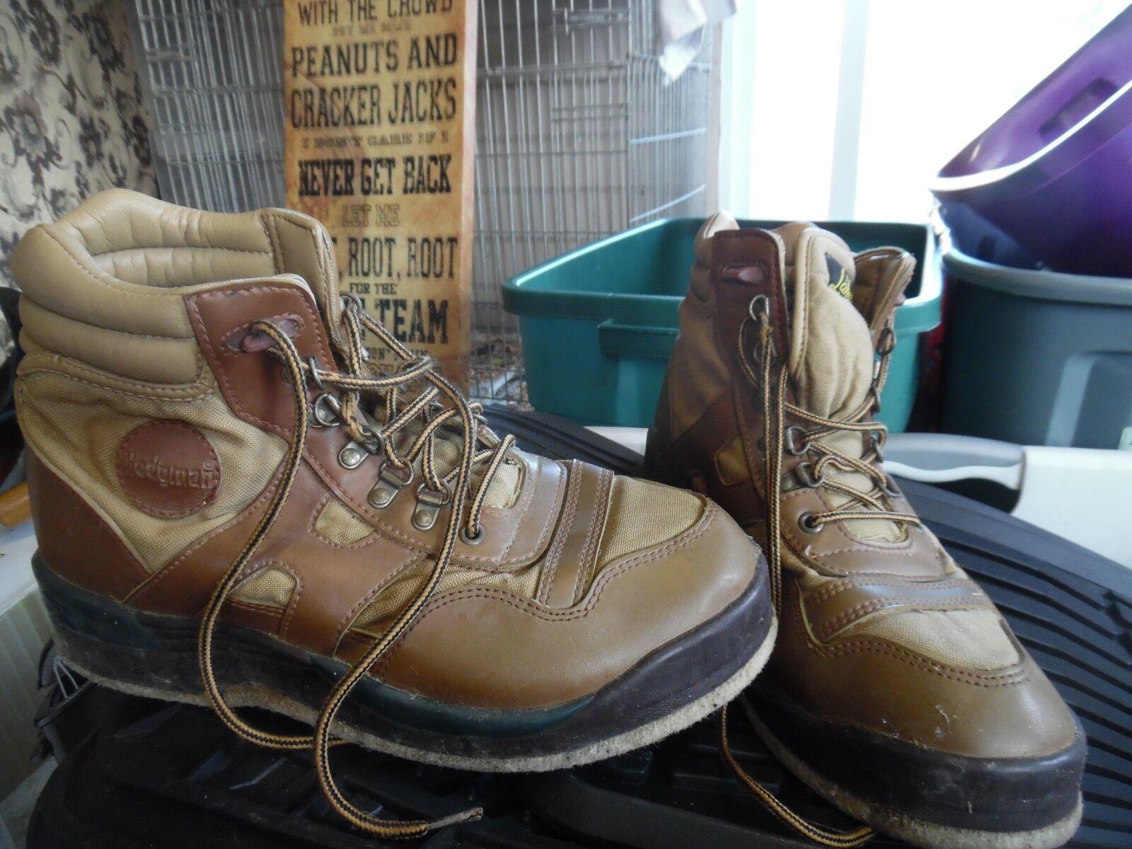 Mens Hodgman Lakestream wading boots size 11