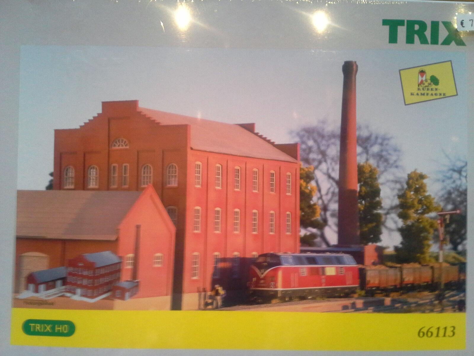 Trix kit 66113 zuckerrübenfabrik nuevo en el embalaje original