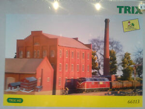 TRIX-Bausatz-66113-Zuckerruebenfabrik-NEU-OVP