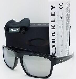 def0609d9f Image is loading NEW-Oakley-Sliver-Vented-Sunglasses-Black-Chrome-Iridium-