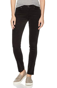 AG-Jeans-Prima-Mid-Rise-Cigarette-Stretch-Corduroy-Climbing-Ivy-NWT-Size-27-amp-31