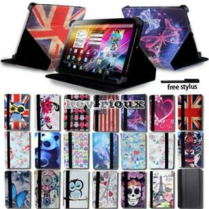 Details about Leather Stand Flip Cover Case For Various 7
