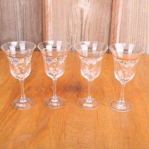4-Hummingbird-Clear-Glass-Wine-Glasses-Goblets
