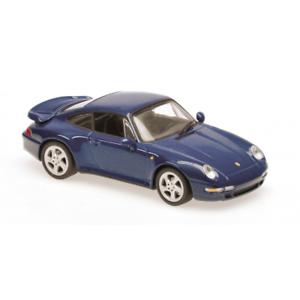 Maxichamps 940069201 Porsche 911Turbo 993 bluee Metallic 1993 Scale 1 43