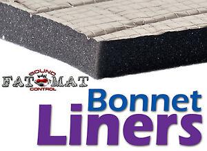 FATMAT-ALUMINIUM-BONNET-LINER-Car-Van-Camper-Engine-Sound-amp-Heat-Foam-Insulation
