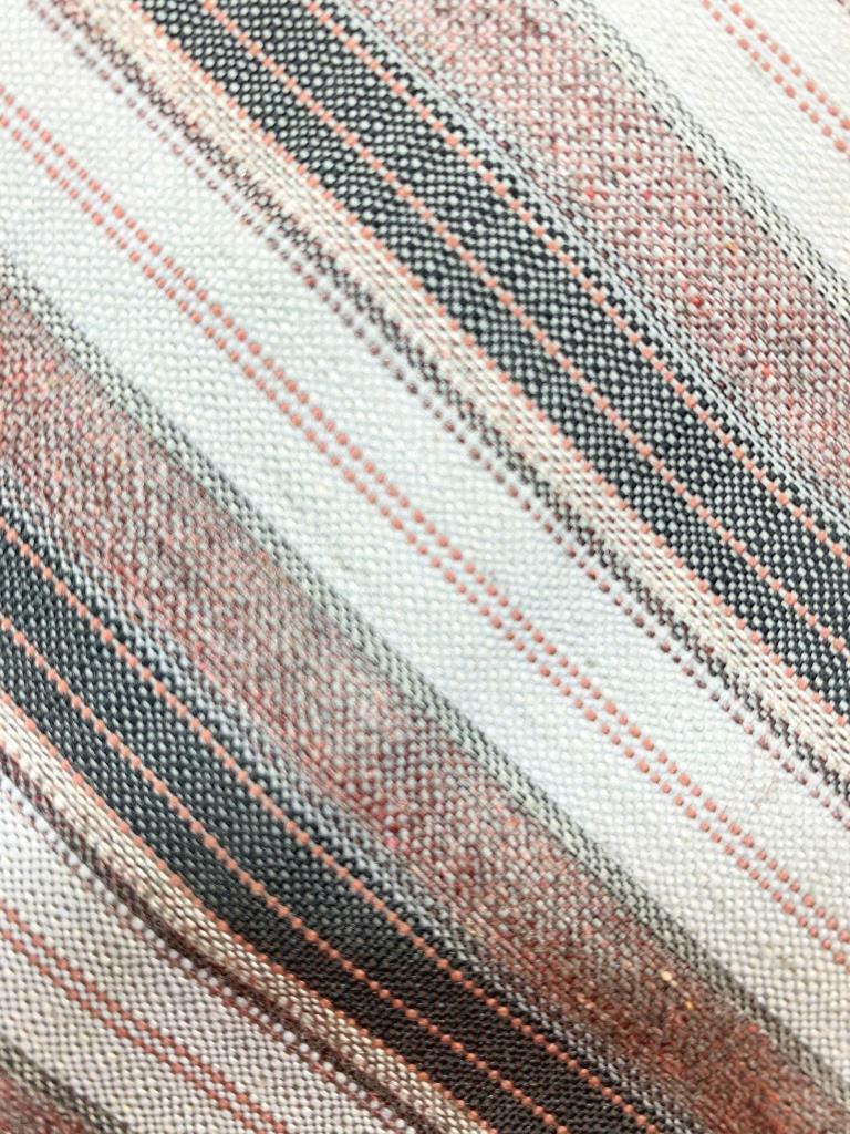 WEMBLEY Khaki Lichtgrau Streifen Gewebe Krawatte MFE0921A #B34