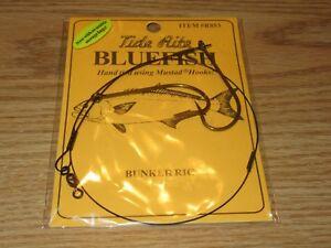 1 BLUEFISH TIDE RITE RFB-L BEAK HOOK FIREBALL RIGS SALTWATER FISH RIG MUSTAD