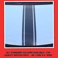 Cofano Auto Strisce Da Corsa/VIPER tutti i colori standard Decalcomanie Adesivi Grafica