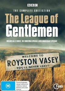 The-League-Of-Gentlemen-The-Complete-Collection-Dvd-Region-4