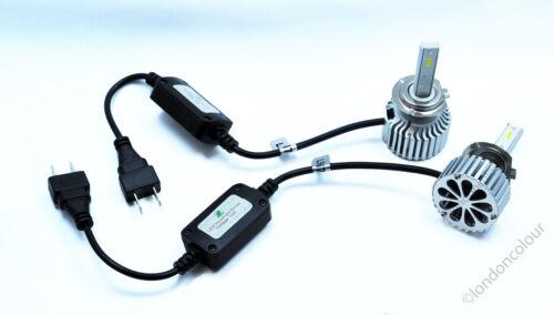 COB LED H7 Car Headlight 80W Light LED DRL Bulbs 6000K Bright Pure White Kit