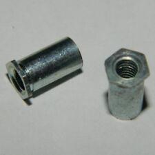 Einschlagmutter M10 Stahl verz für Klettergriffe  II 100 Stk
