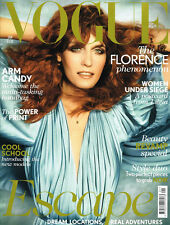 VOGUE UK January 2012 FLORENCE WELCH Agyness Deyn CATERINA RAVAGLIA Romee Stridj