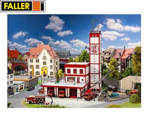 NEU OVP Faller H0 130159 Moderne Feuerwache