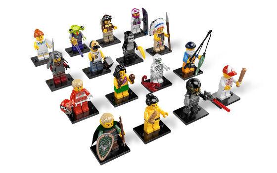 LEGO Minifigures Series 3 8803 Lot de 16 Ensemble complet-Neuf