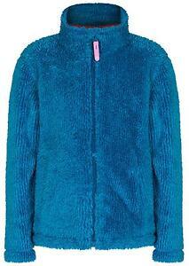 Regatta Foxton Kids Hi-pile Fluffy Full Zip Fleece Cerise Polar