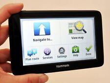 "NEW TomTom GO 2535TM WTE World Traveler Car GPS 5"" USA/Can/Europe LIFETIME MAPS"