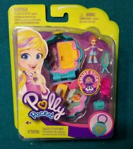 Polly-Pocket-Smart-Stick-Red-Haired-Polly-Pocket-Figure-BRAND-NEW