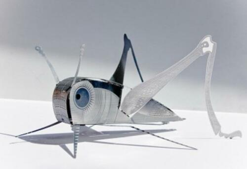 Xl Grasshopper Xlbug Origami Stainless Steel Construction Kit By