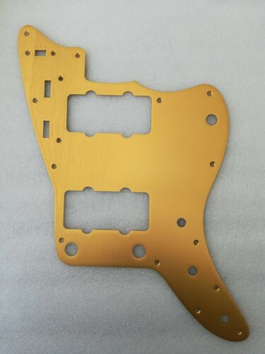 Anodised jazzmaster scratchplate pickguard copper colour