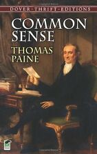 Dover Thrift Editions: Common Sense by Thomas Paine (1997, Paperback, Reprint)