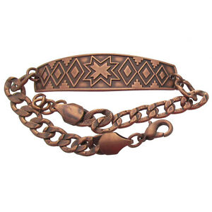 Solid-Copper-Bracelet-Southwest-Design-Handcrafted-Arthritis-Pain-Relief-Jewelry