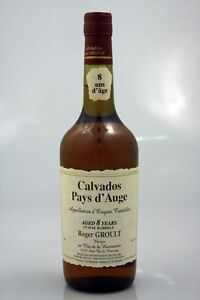 2-bottles-CALVADOS-DU-PAYS-D-039-AUGE-8-ANS-GROULT