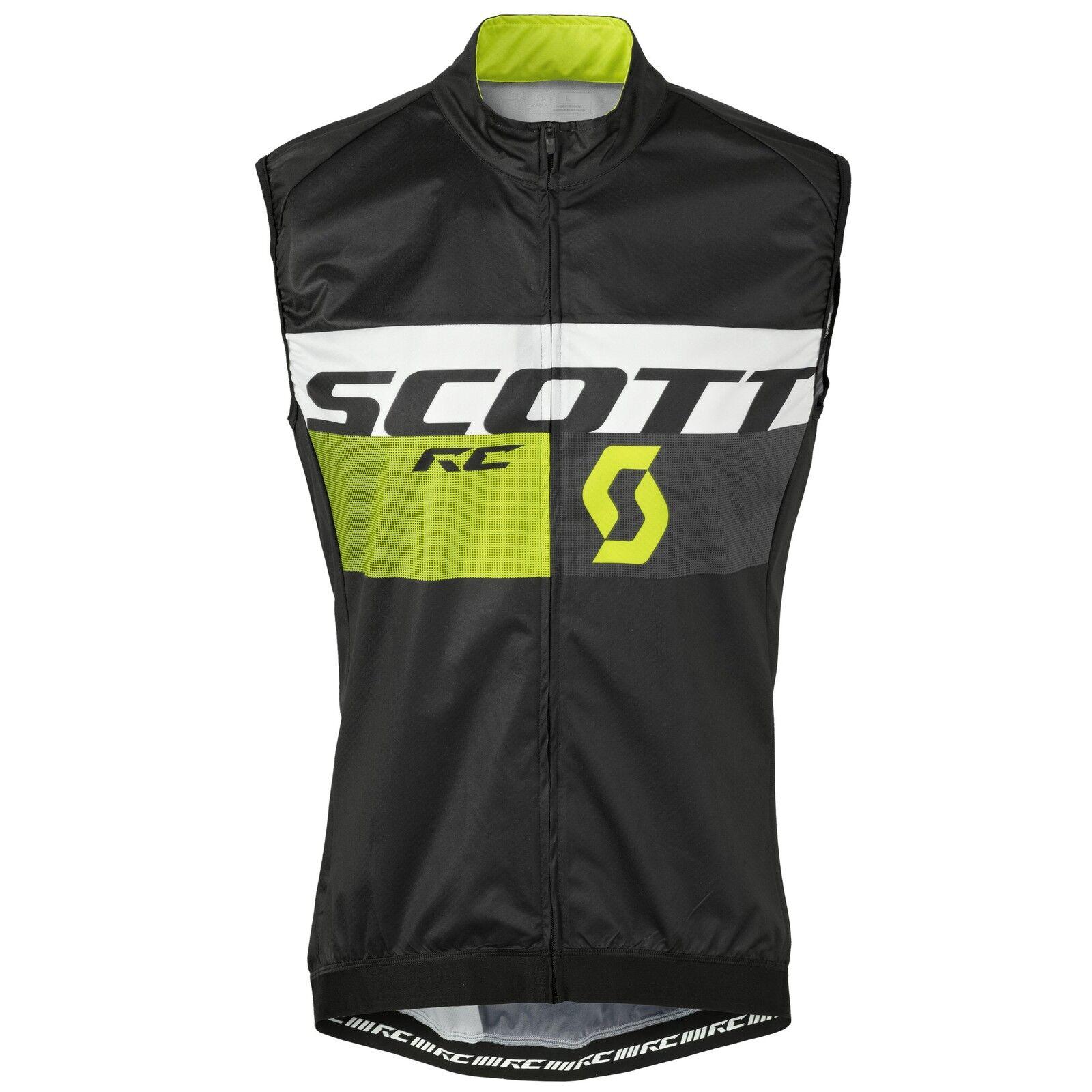 Cape schwarz/gelb/vest Weste Scott VEST RC PRO WB schwarz/gelb/vest Cape RC Pro WB SCOTT schwarz/Ihr e29838