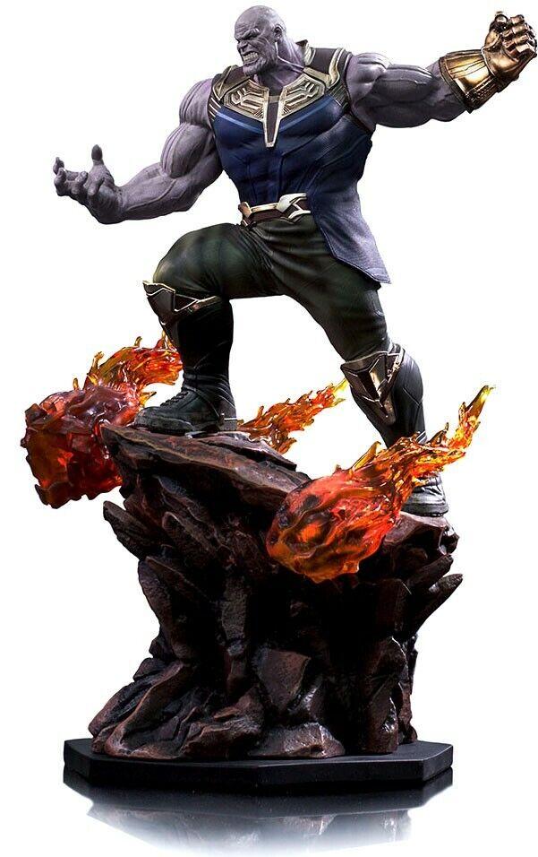 Marvel  Avengers Infinity War Thanos Battle Diorama Statue  la migliore offerta del negozio online