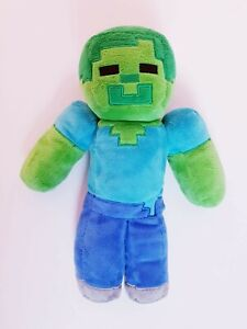 Official-Minecraft-Plush-Zombie-Large-34cm-Plushy-2015-Mojang-Collectable