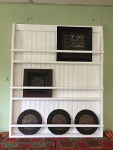 Plate Rack Hanging Shelf Wall